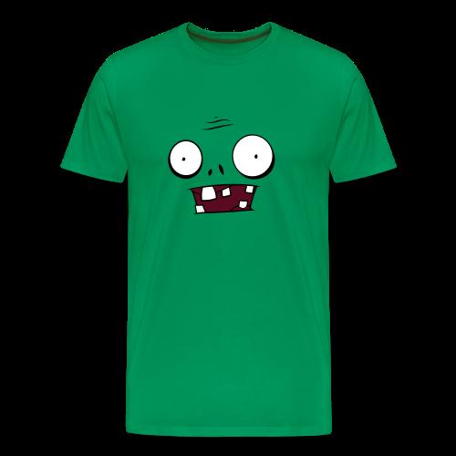 Zombie Face - Men's Premium T-Shirt
