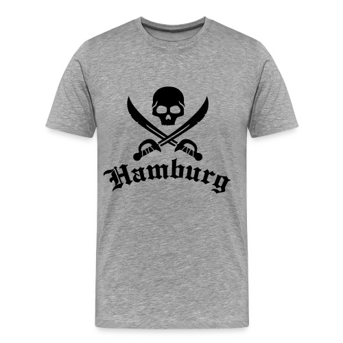 Hamburg T-Shirt - Männer Premium T-Shirt