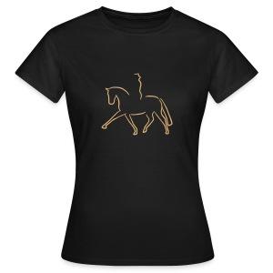 Dressur - Frauen T-Shirt