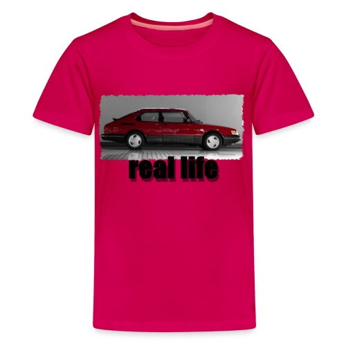 real life - Teenager Premium T-Shirt