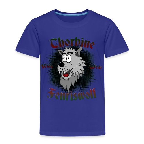 Fenriswolf Shirt - Kinder Premium T-Shirt