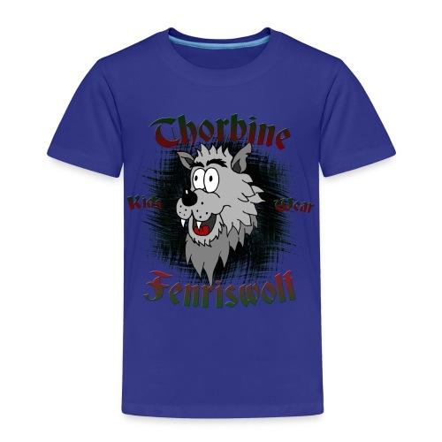 Fenriswolf Shirt - Kinder Premium T-Shirt