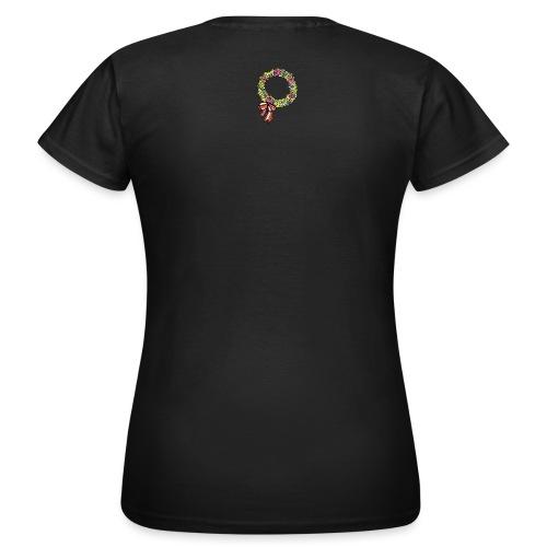 buchskranzl_rosa - Frauen T-Shirt