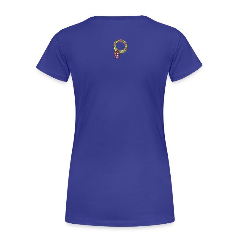 buchskranzl_rosa - Frauen Premium T-Shirt