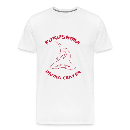 Fukushima Diving Center-Hom-Imp Flex  - T-shirt Premium Homme
