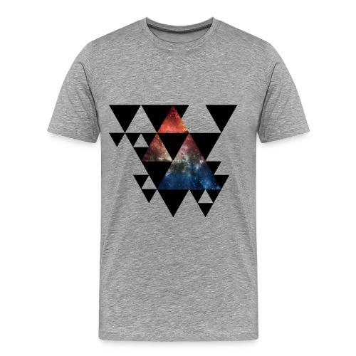 Triangles Shirt - Männer Premium T-Shirt