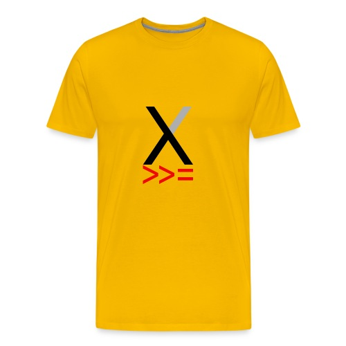 Xmonad - Men's Premium T-Shirt