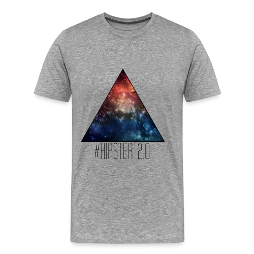 #Hipster 2.0 Shirt - Männer Premium T-Shirt