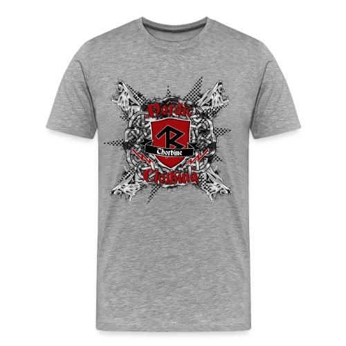 Männer T-Shirt klassisch Wolf Pack - Männer Premium T-Shirt