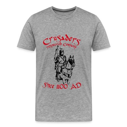 Männer Kurzärmeliges Baseballshirt Crusaders - Männer Premium T-Shirt