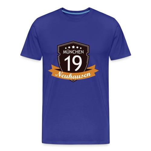 Herren T-Shirt Neuhausen braunes Logo - Männer Premium T-Shirt