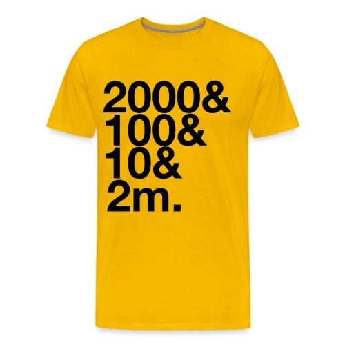 Henley 2112m - Men's Premium T-Shirt