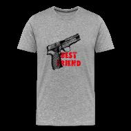 T-Shirts ~ Men's Premium T-Shirt ~ Best Friend t-shirt grey