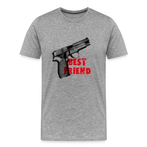 Best Friend t-shirt grey - Men's Premium T-Shirt