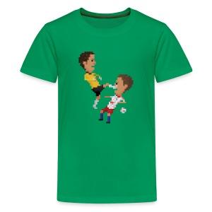 Teen T-Shirt - Kungfu goalkeeper from Bremen - Teenage Premium T-Shirt