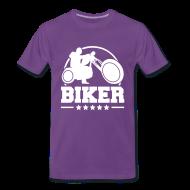 T-Shirts ~ Men's Premium T-Shirt ~ Biker