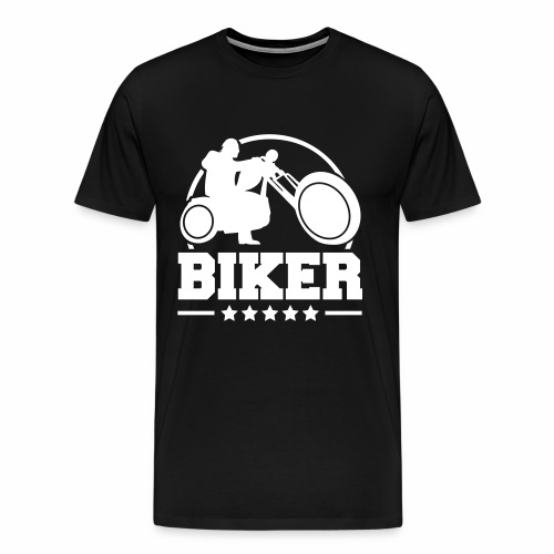 Biker - Men's Premium T-Shirt