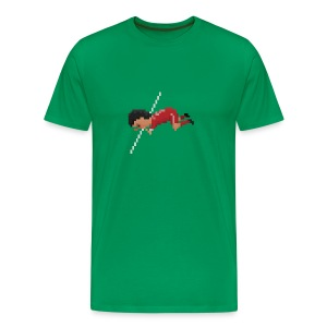 Men T-Shirt - Sniffing celebration - Men's Premium T-Shirt