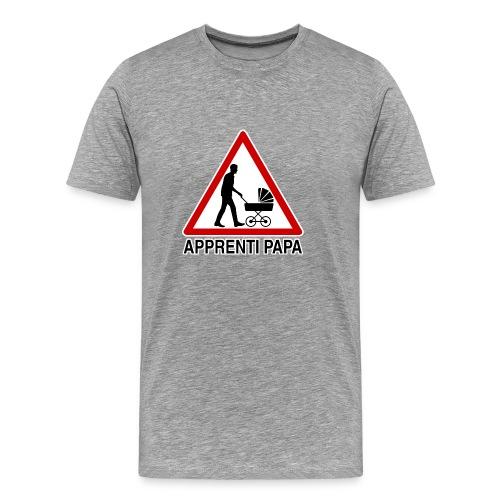 apprenti papa - T-shirt Premium Homme