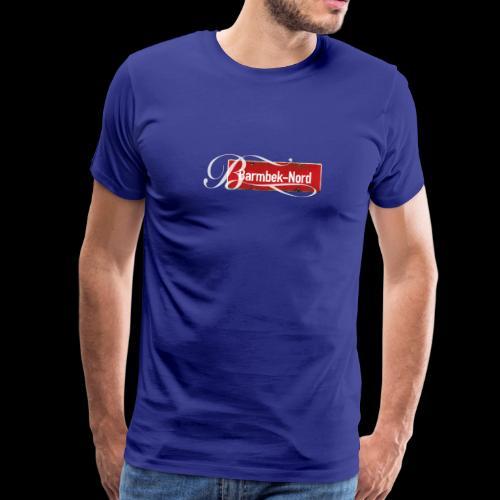 Männer T-Shirt: Barmbek-Nord | Retro-Ortschild | Schmuckinitial - Männer Premium T-Shirt