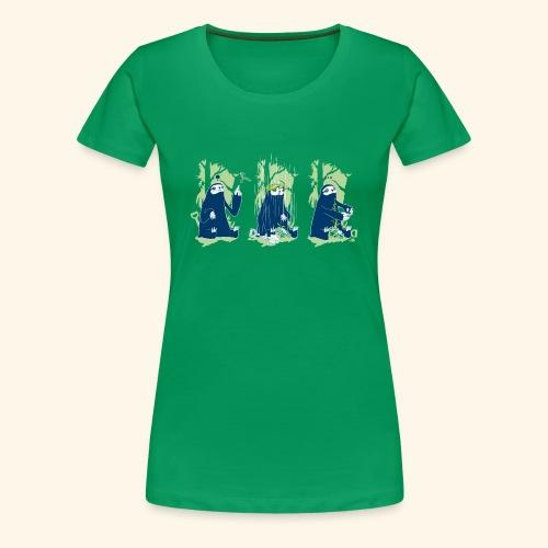 ClimbATree - T-shirt Premium Femme