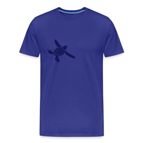 Leatherback Seaturtle Hatchling - Men's Premium T-Shirt