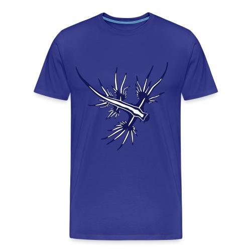 Glaucus Atlanticus Sea Slug - Men's Premium T-Shirt
