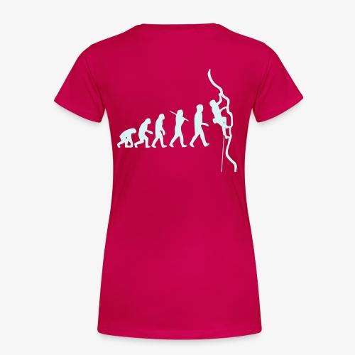 Humanoide Evolution - reflektierend (women) - Frauen Premium T-Shirt