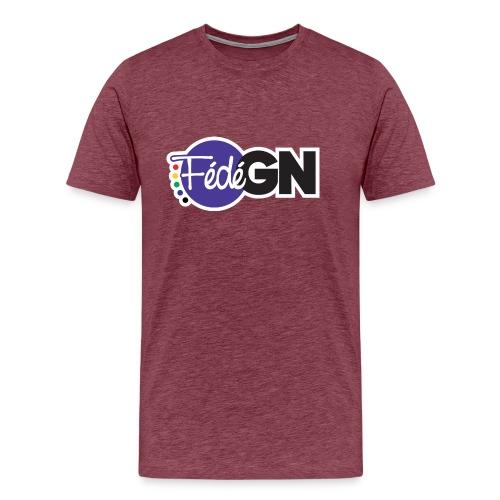 T-shirt couleur - Grand logo - T-shirt Premium Homme