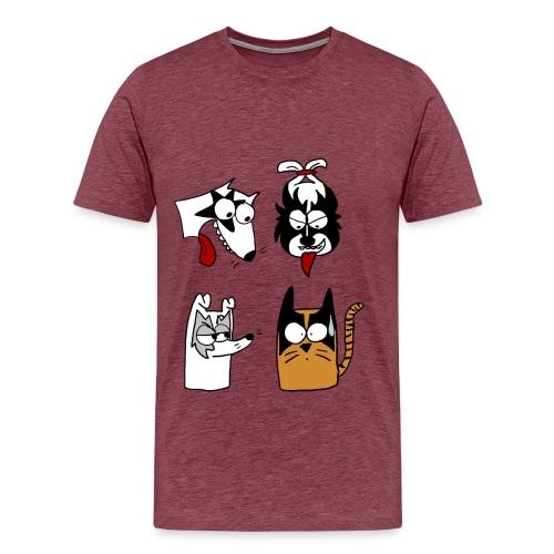 Kiss - Camiseta premium hombre