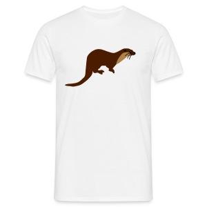 European Otter - Men's T-Shirt