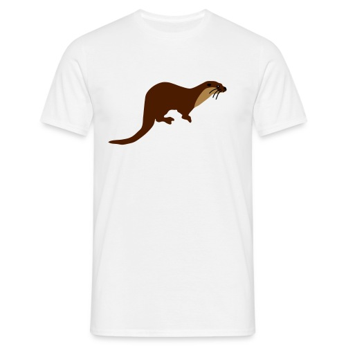 European Otter - Men's T-Shirt