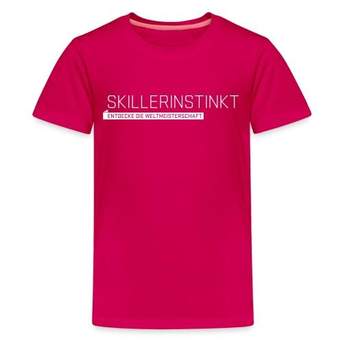 Skillerinstikt Teenager T-Shirt - Teenage Premium T-Shirt
