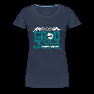 Camisetas ~ Camiseta premium mujer ~ Monkey Island: Scumm Bar Grog (+ Receta en la espalda)