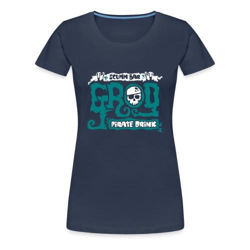 Monkey Island: Scumm Bar Grog (+ Receta en la espalda) - Camiseta premium mujer