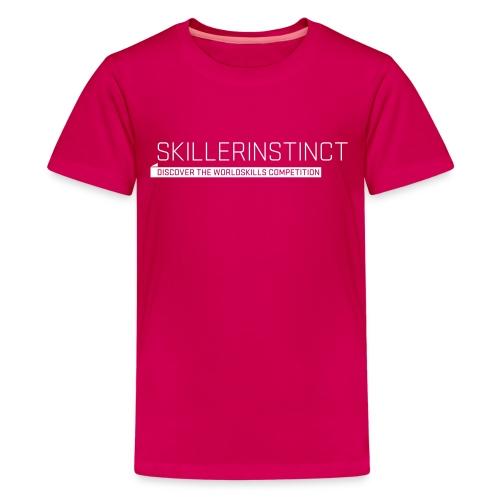 Skillerinstict Teenager T-Shirt - Teenage Premium T-Shirt