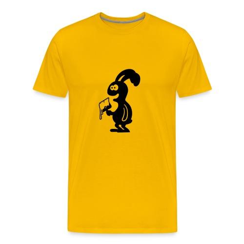 Maler-Hase - Männer Premium T-Shirt