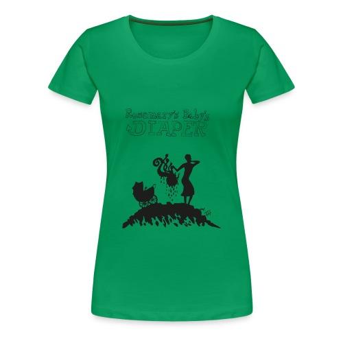 Rosemary's Baby's Diaper (Women) - Women's Premium T-Shirt