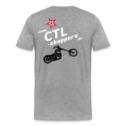 Basic T-Shirt mit Logo - Männer Premium T-Shirt