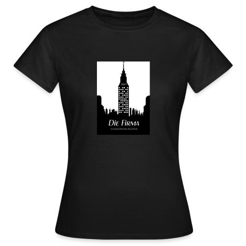 Die Firma official Fanshirtwomen  edelbraun - Frauen T-Shirt