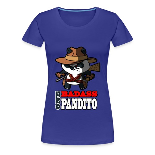 Badass Pandito - Women's Premium T-Shirt