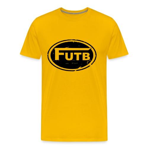 Logo Shirt + shoulder print - Männer Premium T-Shirt