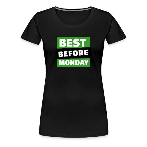 Logo Girlie Shirt Vintage - Frauen Premium T-Shirt