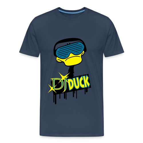 DJ duck - Mannen Premium T-shirt
