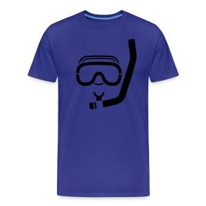 Scuba Diving T-Shirt - Men's Premium T-Shirt