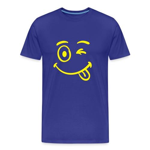 Maglia Smile - Maglietta Premium da uomo