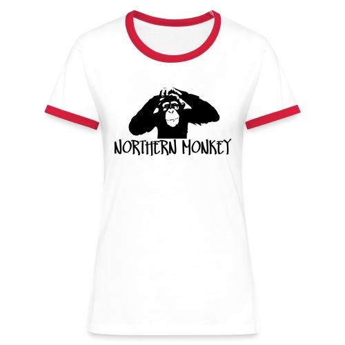 Northern monkey - Women's Ringer T-Shirt