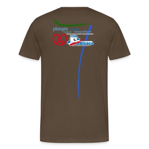 Ligue Alsace - Homme - T-shirt Premium Homme