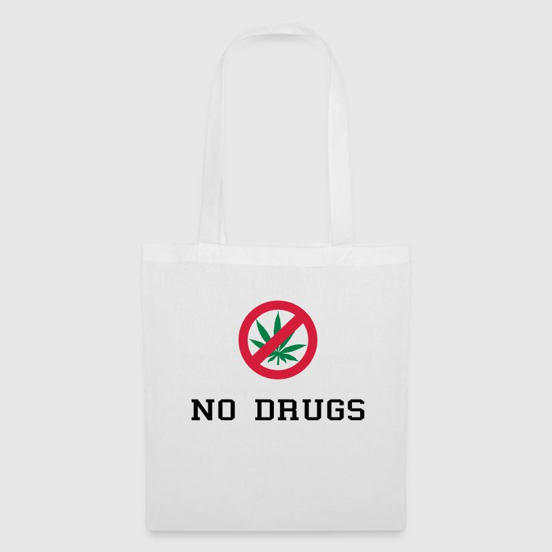 No Drugs / Say no to drugs / Cannabis / Drogen Bags & backpacks - Tote Bag