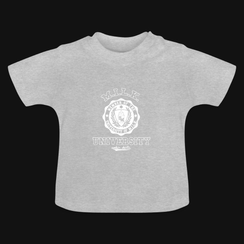 University of M.I.L.K. - Babyshirt (Kurzarm) - Baby T-Shirt